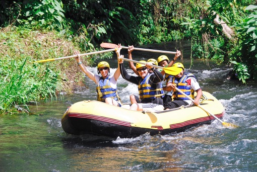 Our Rafting Team